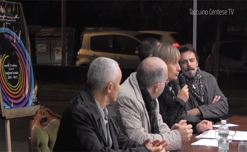 Taccuino Centese TV alla presentazione del PalaBorgatti con Alessandro Preziosi