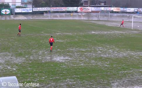 Troppa pioggia: rinviata Centese – Ozzanese