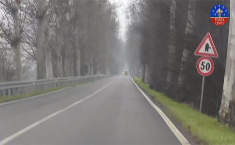 Video denuncia di Forza Cento su via Nuova