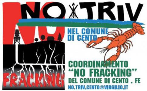 """NO TRIV  NO FRACKING"" : Il Sindaco Lodi pressapochista"