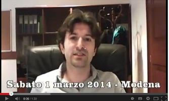 IL MoVimento 5 Stelle in Piazza a Modena !