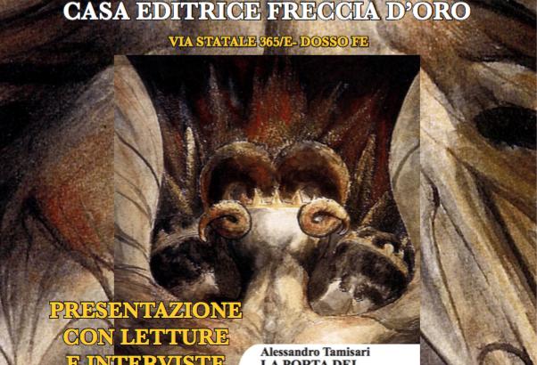 DALLE TERRE DEL RENO (FE) LA CASA EDITRICE FRECCIA D'ORO PRESENTA UN GIOVANE SCRITTORE!