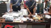 FERRARA: DAL COMANDO PROVINCIALE DI FERRARA SCOPERTA PICCOLO MARKET DELLA DROGA: ARRESTATO GIOVANE !