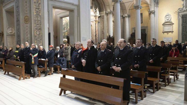 CENTO (FE) L'ARMA DEI CARABINIERI FESTEGGIA LA VIRGO FIDELIS !