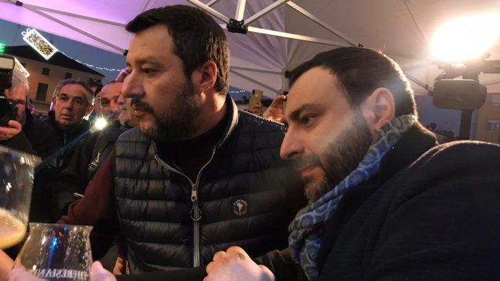 """BONDENO (FE) MATTEO SALVINI IN TOUR: «IL MODELLO """"BONDENO"""" E' VINCENTE, DAL 26 GENNAIO LO ESPORTEREMO IN REGIONE CON FABIO BERGAMINI»!"""