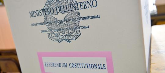 CENTO (FE) REFERENDUM COSTITUZIONALE PER LA RIDUZIONE DEI PARLAMENTARI SI VOTA IL PROSSIMO 29 MARZO 20 !